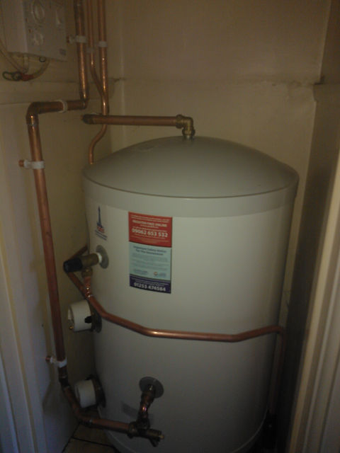 Replacement Cylinder, Boiler Plumber Hereford Ross on Wye