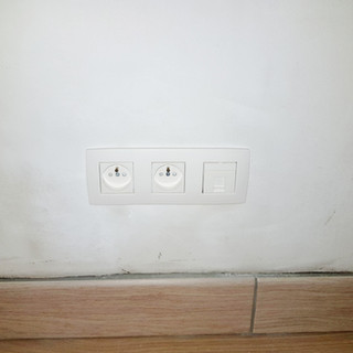 Prise + Ethernet