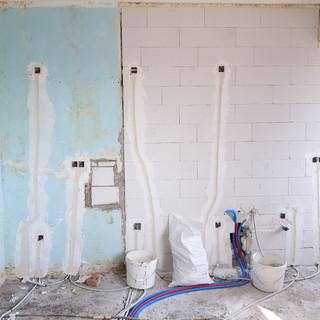 Installation encastrée