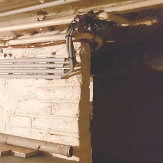 Installation en saillie