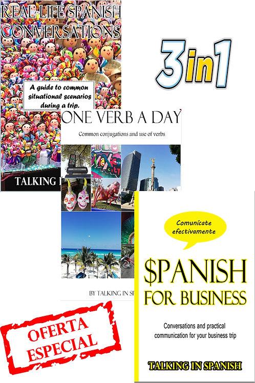 Our 3 Spanish Ebooks
