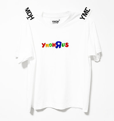 YMDH'R'US Embroidery Logo Tee WHT