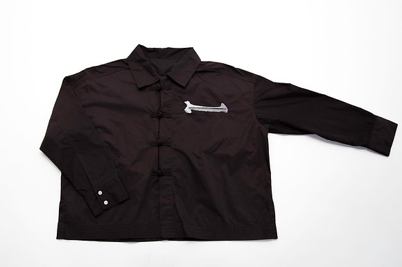 ONE POCKET MASTER SHIRT BLK