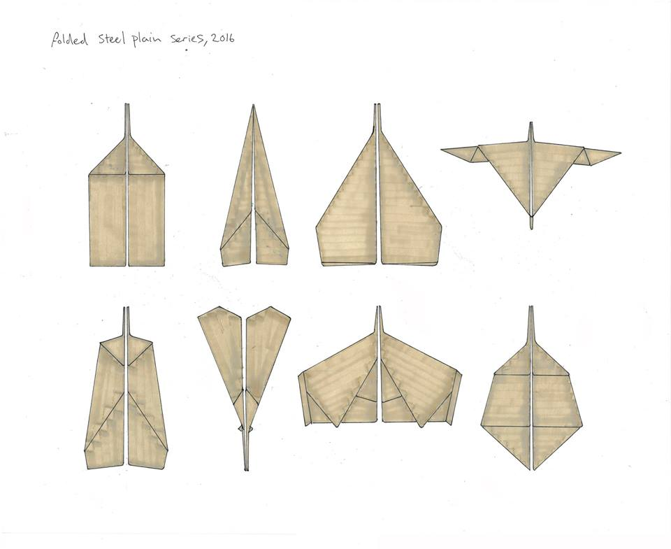 Samuel Zealey - 'PLANES' (drawing)