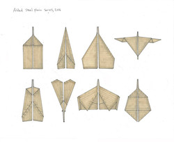 Samuel Zealey - 'PLANES' (drawing)