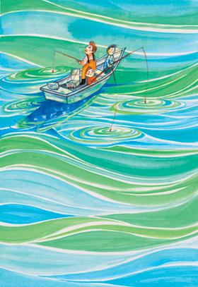 Fishermen in San Diego