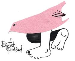 Bigfoot Pink Bird