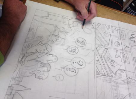 Remigio No.01 entsteht... Impressionen aus der Druckwerkstatt!