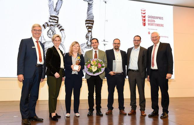 Gründerpreis Baden-Württemberg 2019 2. Platz