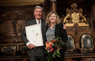 Verleihung des Darbovenförderpreises 3. Platz für Unternehmerinnen durch Albert Darboven in Hamburg