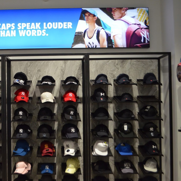 תצוגת כובעים