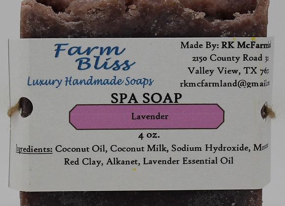 Lavender Spa Soap