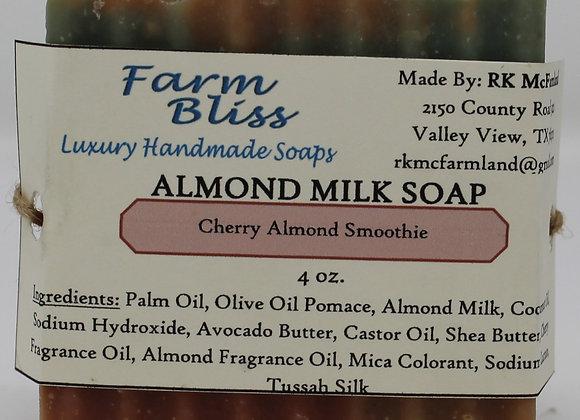 Cherry Almond Smoothie Almond Milk Soap