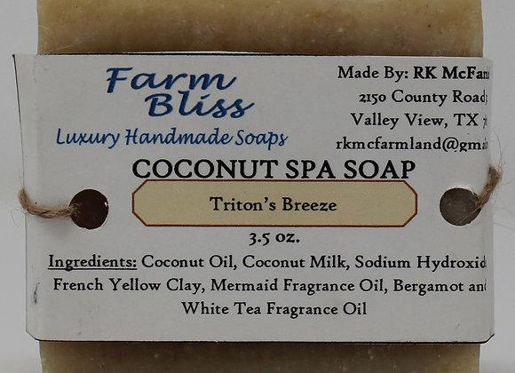 Triton's Breeze Spa Soap