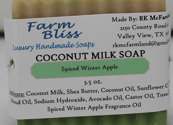 Spiced Winter Apple Coconut Milk Soap