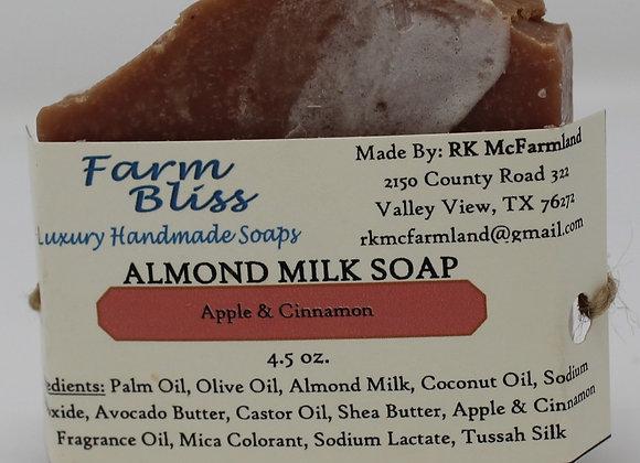 Apple & Cinnamon Almond Milk Soap