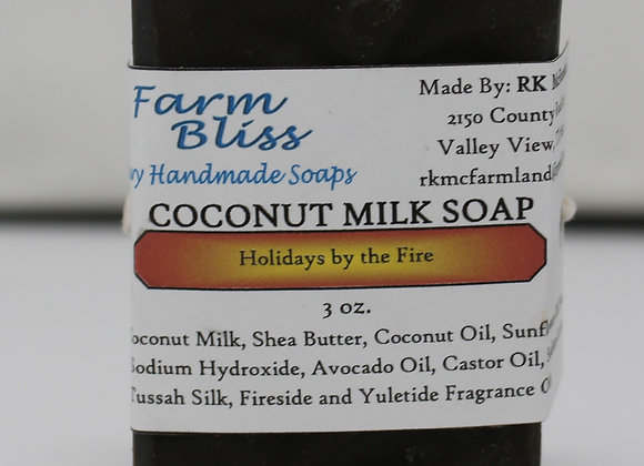 Holidays by the Fire Coconut Milk Soap
