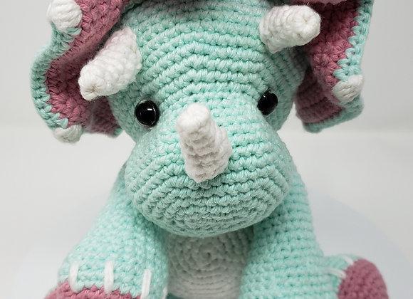 Cera Tops Handmade Triceratops