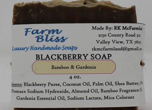Bamboo & Gardenia Blackberry Soap