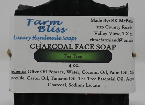 Tea Tree Charcoal Face Soap