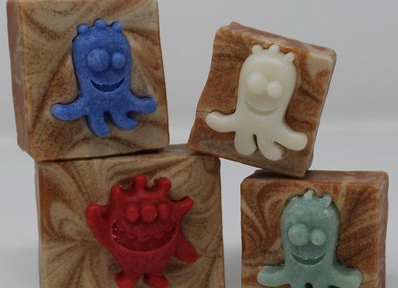 Orange Screamsicle Monster Soap