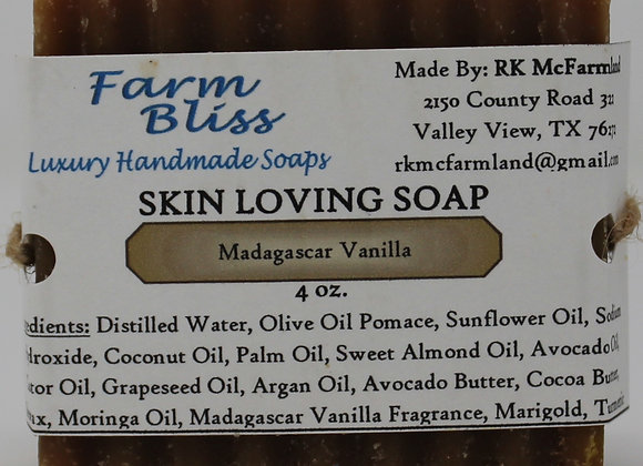 Madagascar Vanilla Skin Loving Soap