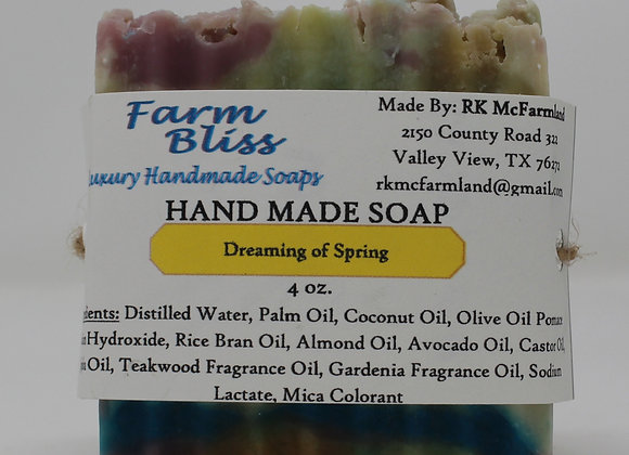Dreaming of Spring Hand Made Soap