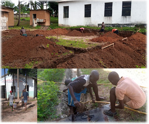 Nybyggnation av bilverkstad i Mbezi, Dar Es Salaam Tanzania