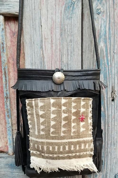 Collaboration bag Vintage BOGOLON Mud Cloth