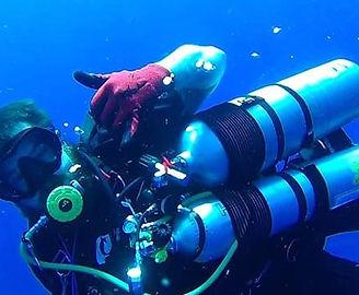 Chris George PADI Tec Diver ocean sea sc