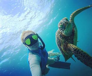Hannah Rayburn DIVE ARMY PADI Turtle IDC