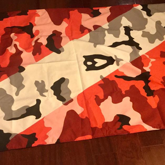 DIVE ARMY flag