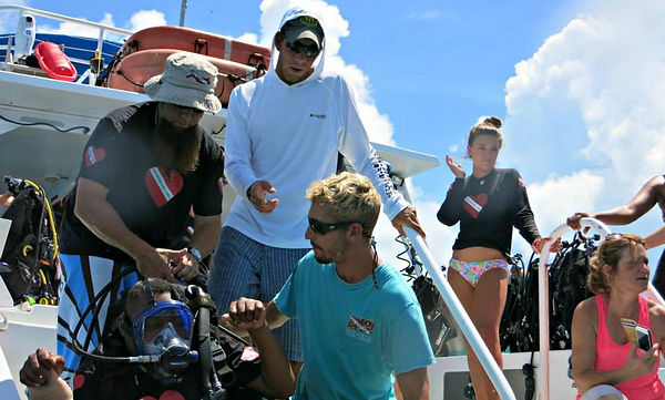Diveheart DIVE ARMY Open Water Dives Key