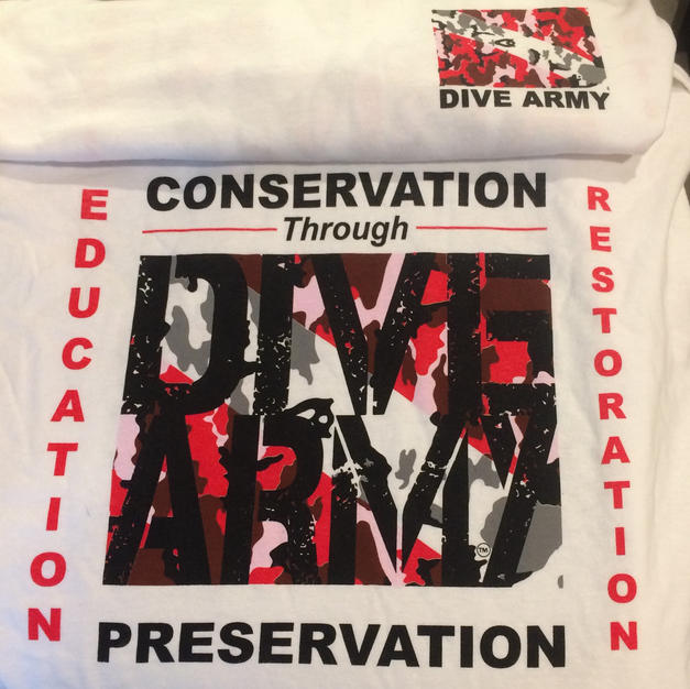 DIVE ARMY t-shirt