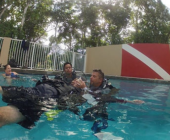 Richard Merenda DIVE ARMY PADI IDC Key L