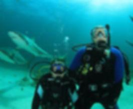 Rusty Merrell DIVE ARMY Key Largo Sharks