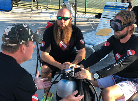 DIVE ARMY training Diveheart Instructors and Buddies