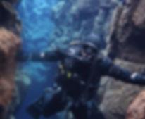 Erik Payeur DIVE ARMY Silfra Rift IDC Ke