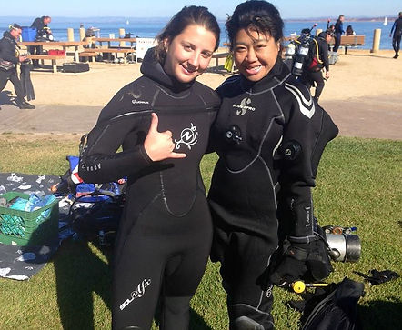 Jocelyn Ferrer California Monterey DIVE