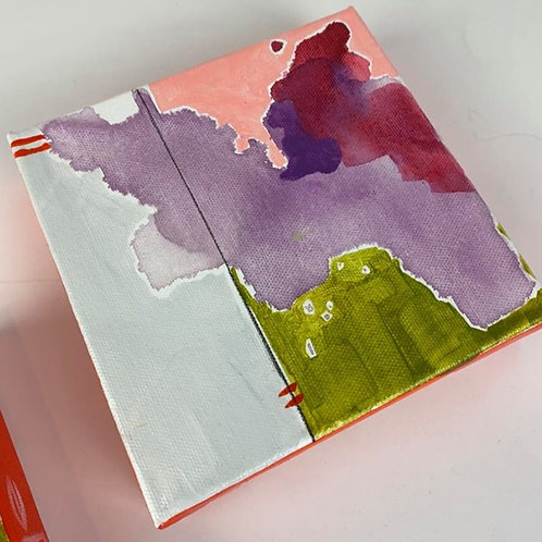 Abstract Mini (Purple 1)