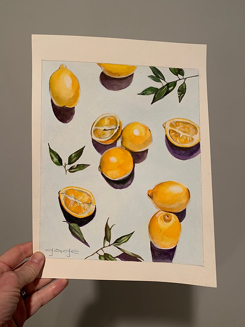 Lemons on Paper