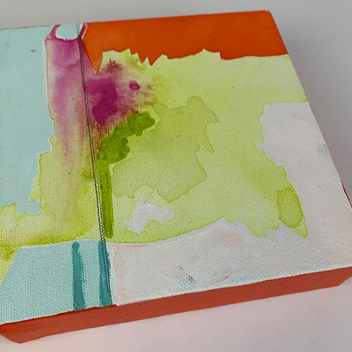Abstract Mini (Lime 1)
