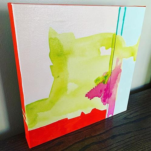 Abstract (Fuchsia Splash)