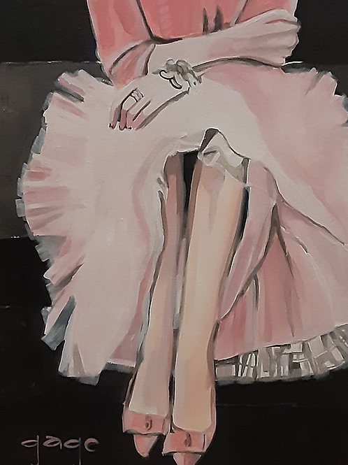 Sitting Pretty in Pink