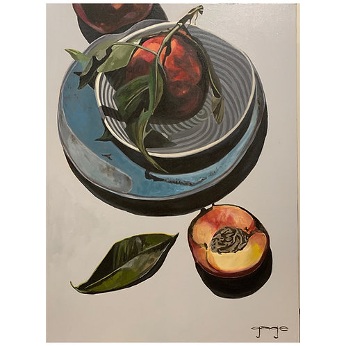 Peaches and Pottery