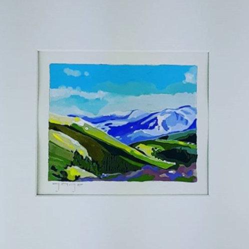 Purple Mountain (Paper)