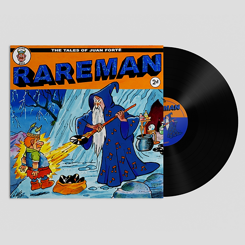 JUAN003: Rareman - Tribute / Shibuya Nightz (1 Per Person)