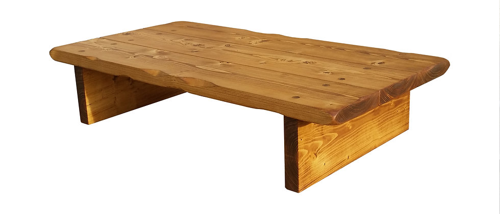 Solid Pine Coffee Table (Waxed)
