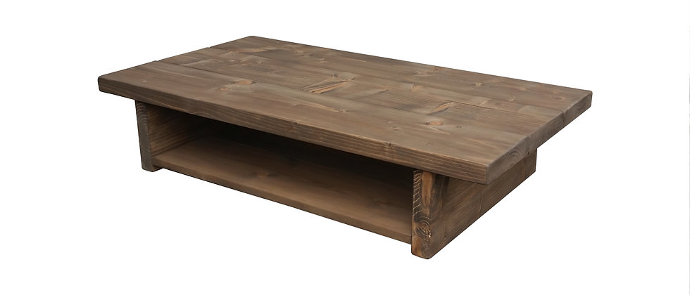 Deford Solid Pine Coffee Table