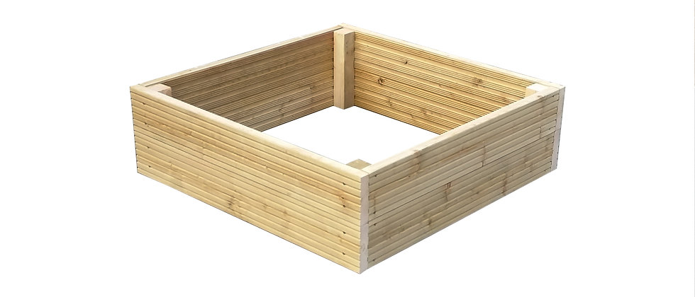 Square Decking Raised Beds